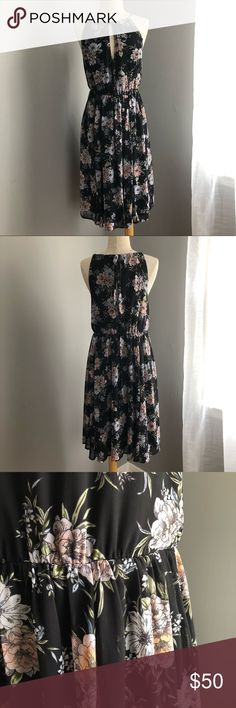 eac2607ebd2 Torrid floral dress Beautiful floral print dress from Torrid. Has a great  keyhole detail on the front