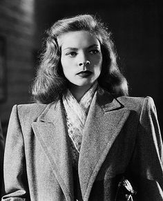 classic actresses bettybacallbeauty: Lauren Bacall in Confidential Agent - 1945 Old Hollywood Stars, Hollywood Glamour, Classic Hollywood, Lauren Bacall, Veronica Heathers, Bogie And Bacall, Humphrey Bogart, Classic Actresses, Yesterday And Today