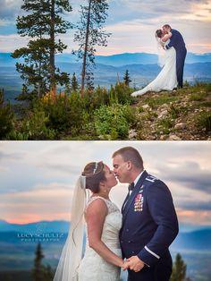 Colorado Wedding Photographer | Lucy Schultz Photography | Mountain Wedding | Romantic Wedding Photo Ideas | Winter Park Wedding | Sunset Wedding Photos