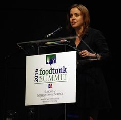 """""""Seek out people who make you uncomfortable, ask them questions and learn from them...let's get beyond our own opinions and seek out the thoughts of others."""" Danielle Nierenberg, President, Food Tank Food Tank Summit DC 2016 resumes today! Watch live, 9-5 @ www.foodtank.com #foodtank"""