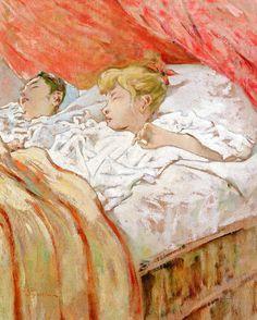 Telemaco Signorini - Bambini che dormono