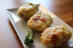 Las Recetas de Maria: Patatas rellenas de york y queso