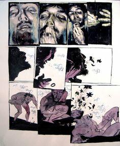 The Fountain, pg. 155 Comic Art