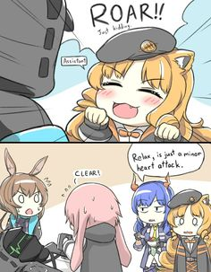 Arknights - Welcome to Rhodes Island. Comic Anime, Anime Comics, Anime Art, Video Games Funny, Funny Games, Cute Comics, Funny Comics, Anime Monsters, Funny Comic Strips