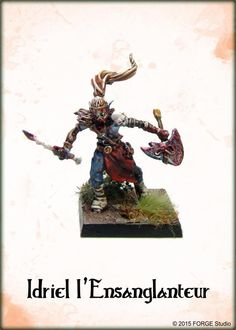 Idriel, officier Elfe