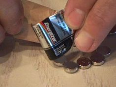 Inside an battery are 8 button cell batteries!