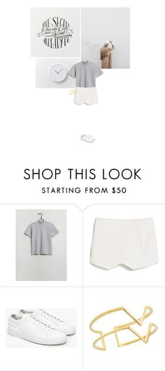 """I hope you get where you're going, and be happy when you do."" by bestdressx ❤ liked on Polyvore featuring MANGO, Common Projects, Edge of Ember, women's clothing, women, female, woman, misses and juniors"