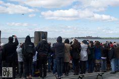 The Space Shuttle Enterprise Arriving In New York City (April 27, 2012) #8