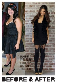 She lost 80lbs in 10 months eating yummy stuff. This is such a cute blog.