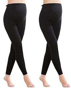 0de5bdaf2e706 Amazon.com: Foucome Women's Over The Belly Super Soft Support Maternity  Leggings: Clothing