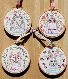 myBearpaw: Embroidery Pattern