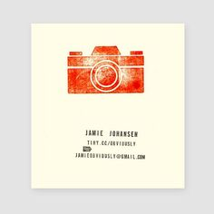 stamped business cards