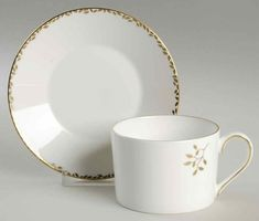 Cup And Saucer Set, Wedgwood, White Porcelain, Tea Cups, Entertaining, Flats, Tableware, Loafers & Slip Ons, Dinnerware