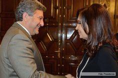 Cristina recibió a los ejecutivos de Toyota en Casa de Gobierno