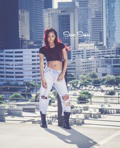 Rooftop shoot with DeAndrea #Stevestylesphoto