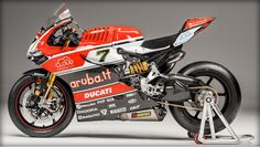 Ducati's 2016 WSBK entry. Haven't seen this beautiful of a superbike since the 916!