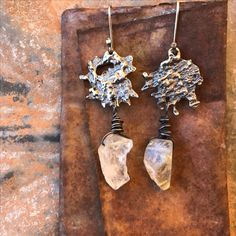 wild / crafted / metal : rustic and eclectic artisan jewelry by studio luna verde / embracing the art of imperfection