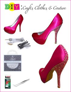 Cute way to dress up your heels! But not pay a fortune for similar Louboutins