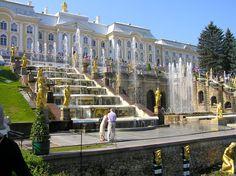 Peterhof Palace, Saint Petersburg, Russia