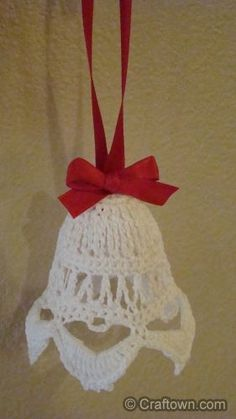 Free Christmas Crafts! Crochet Ornament Crafts a must this year!