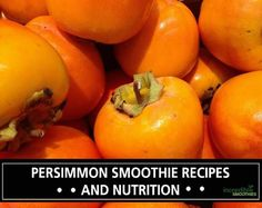 Persimmons are one of my favorite fall/early winter foods to use in green smoothie recipes. They are best used as either a flavor fruit in a smoothie or they can contribute to the smoothie base along with other creamy base fruits. Persimmons have a flavor that is unique and often described as a blend of …