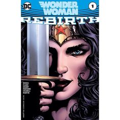 Wonder Woman: Rebirth (2016) #1 Written by Greg Rucka Pencils Liam Sharp Inks Liam Sharp Paulo Siqueira Cover by Liam Sharp After suffering an unimaginable loss Wonder Woman must rebuild her mission as Earth's ultimate protector and champion.  DON'T MISS: New York Times best-selling writer Greg Rucka returns to Wonder Woman with a tale that will forever alter the DC icon.