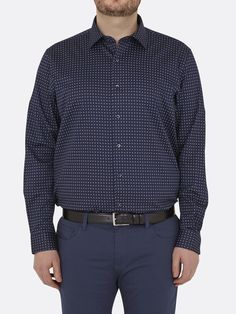 Shirt Cotton Stretch Tailored Fit