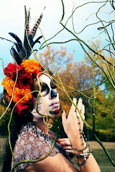 colors for my front yard. I love it all however.   Day of the Dead: Honoring our grandmother, Jesusita : Pictures of Mexico