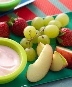 Fruit Tapas with Fruity Go-GURT Dip