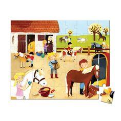 Cu ajutorul acestui puzzle, orice copil invata jucandu-se. Puzzleul Scoala de calarie ii invata pe cei mici despre echitatie, le dezvolta capacitatea de a gandi si este, in acelasi timp, o modalitate distractiva de petrecere a timpului liber. Puzzles, Horse Riding School, Family Guy, Kids Rugs, Horses, Fictional Characters, Php, Html, Educational Toys