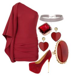 """Daughter of Eris Night Out"" by elli-jane-xox ❤ liked on Polyvore featuring Jay Ahr and Topshop"