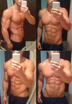 when you abs are this good you take a lot of pictures of yourself