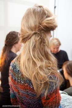 Boho fishtail braid!! Love it! #ladymarshmallow #hairstyle