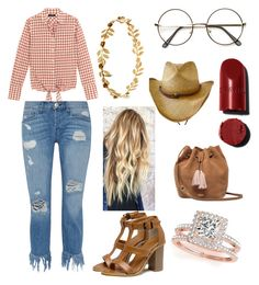 """Summer Party outfit #2"" by alicia-zijlstra on Polyvore featuring J.Crew, 3x1, Allurez and UGG"