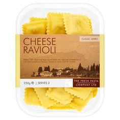 The Fresh Pasta Company Cheese Ravioli Candy Packaging, Food Packaging, Pasta Company, Pasta Brands, Pasta Restaurants, Glitter Purse, Cheese Ravioli, Fresh Pasta, Food Labels