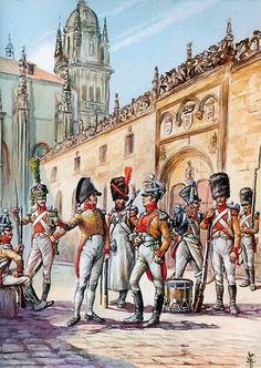 """""""The infantry of the Neuchâtel battalion at Salamanca, so before 1812"""", Patrice Courcelle & Jack Girbal"""
