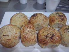 Pancitos Bagel, Bread, Food, Food Cakes, Brot, Essen, Baking, Meals, Breads