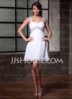 Cocktail+Dresses+-+$97.89+-+Empire+Sweetheart+Knee-Length+Chiffon++Charmeuse+Cocktail+Dresses+With+Ruffle++Beading+(016008678)+http://jjshouse.com/Empire-Sweetheart-Knee-length-Chiffon--Charmeuse-Cocktail-Dresses-With-Ruffle--Beading-016008678-g8678