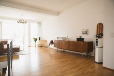 Joachim Sauter's apartment in Berlin  / photo by Dan Zoubek