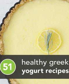 51 choices for healthy greek yogurt recipes!