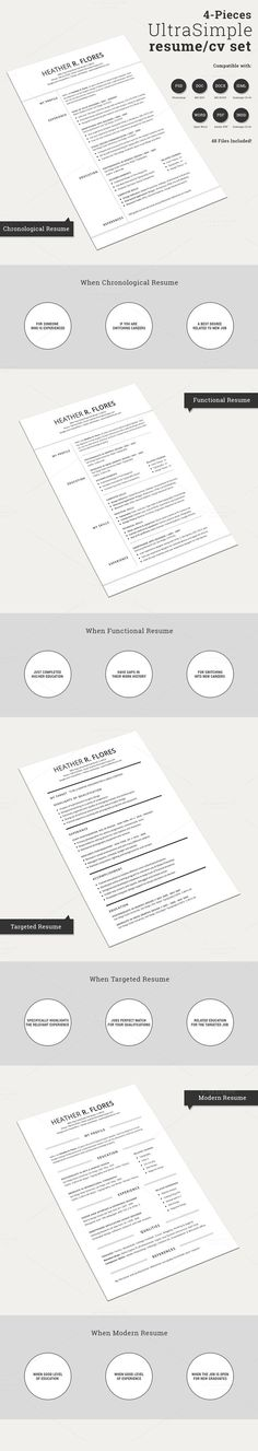 Check out The Job Resume CV Print Template by SNIPESCIENTIST on - resume print out