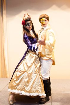 Genderbend Beauty and the Beast