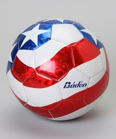 Take a look at this Stars & Stripes Soccer Ball by Big Lots on #zulily today!