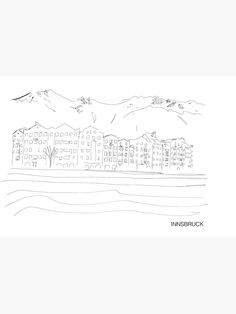 """Innsbruck"" Notizbuch von GlobalDesignIbk   Redbubble Innsbruck, Iphone Case Covers, Pictures, Accessories, Notebook, Printing"