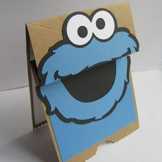 how to make a cookie monster puppet
