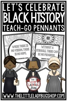 You will love these Black History Month Coloring Posters Teach-GO Pennants™. These are perfect for having your students focus on influential black leaders. These are special and important quotes perfect for Black History Month Bulletin Boards. Perfect for 3rd graders, 4th graders, 5th graders, home schooling, and more! #blackhistorymonth #blackhistorymonthactivities #blackhistorymonthcoloring
