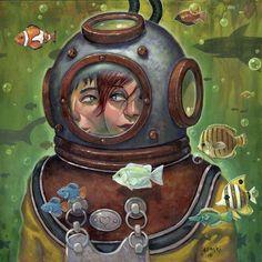 The Duel – Geeky Paintings by Aaron Jasinski