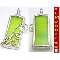 stained glass pendant, I can totally make this