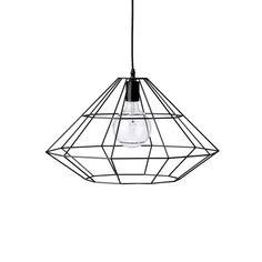 Pernille, lampa na surowo - projekt: Bloomingville - domplusdom.pl