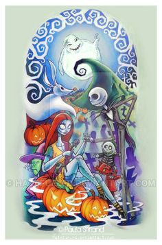 Nightmare Before Christmas Sleeve by hatefueled on DeviantArt